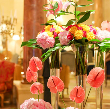lobby flowers Los Angeles