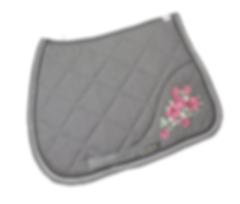 saddlecloth-flowers-grey