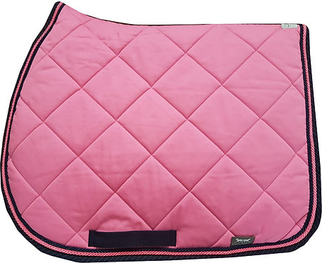 Sottosella a Rombi Rosa / Rhombus Quilted Saddlecloth in Pink