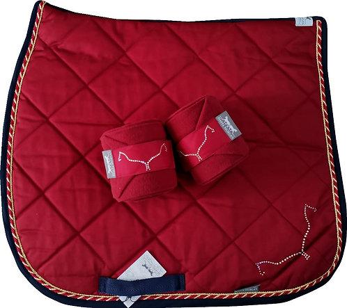 SottosellaDR+fasce/DR Saddlecloth+bandages