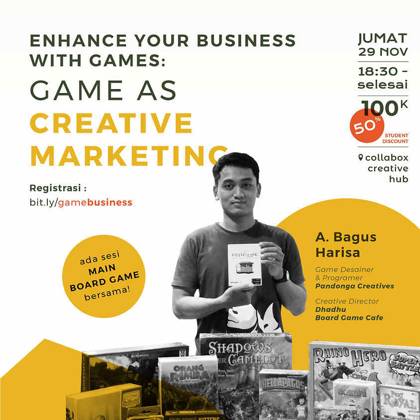 Enhance your Business with Games : Game as Creative Marketing