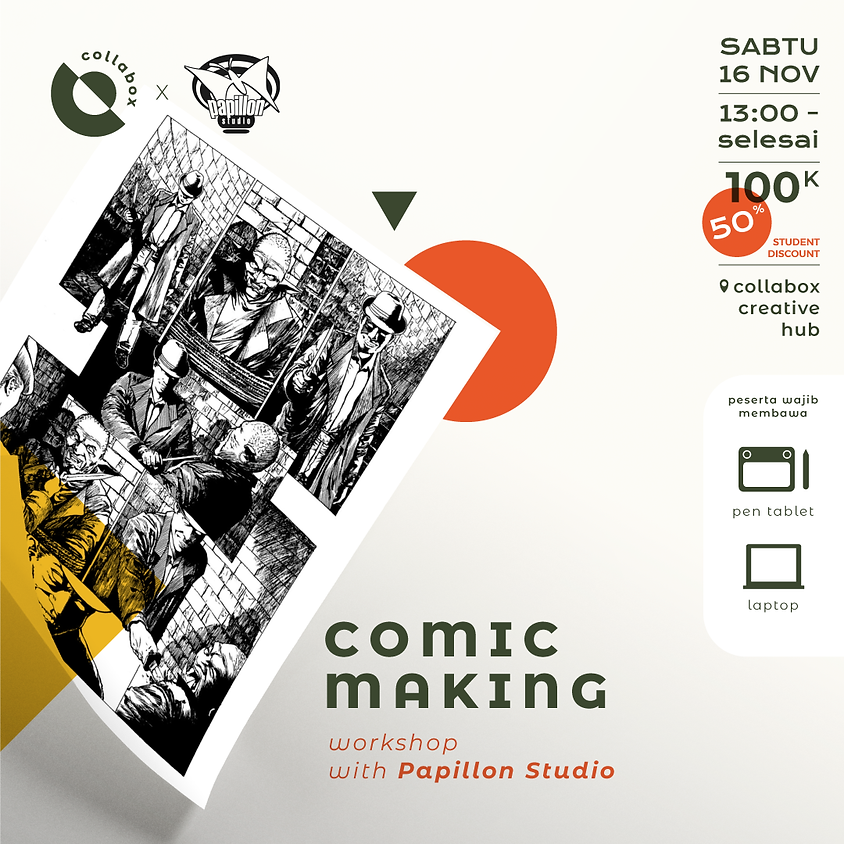 Comic Making - Papillon Studio