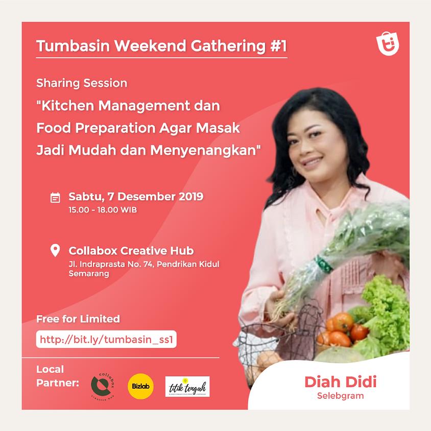 """""""Kitchen Management and Food Preparation agar Masak jadi Mudah dan Menyenangkan"""" Sharing Session"""