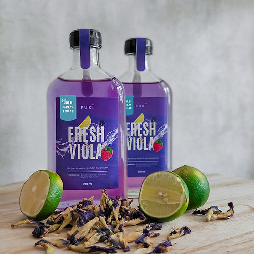 Fresh Viola (Cold Brew)