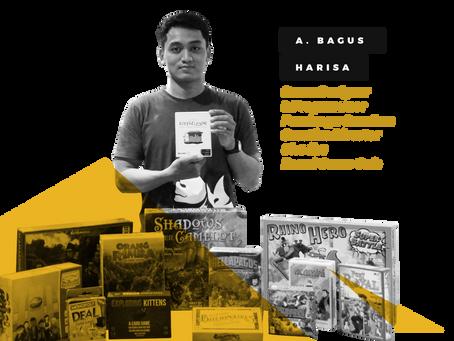 Ardiawan Bagus Harisa, Creative Director Dhadhu Board Game Cafe