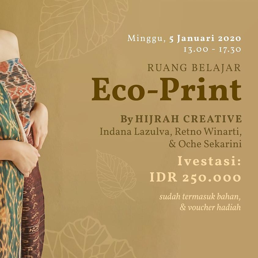 Ruang Belajar - Eco-Print by Hijrah Creative