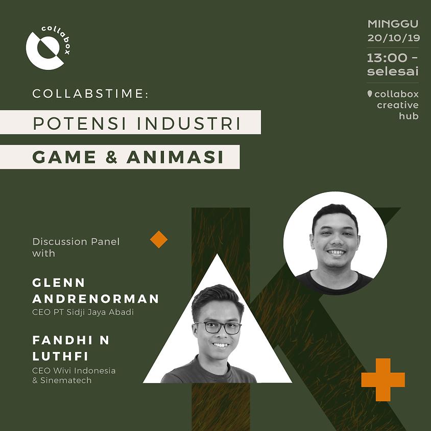 Collabstime : Potensi Industri Game & Animasi