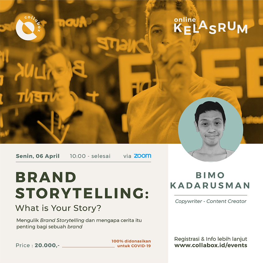 Brand Storytelling: What is Your Story?