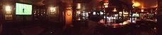 intérieur du bar du Fishermen's pub Nyon