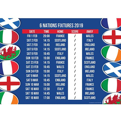 Calendrier 6 Nation 2019.Events The Fishermens Pub