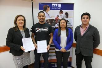 CFT y Waki Labs firmaron convenio de colaboración