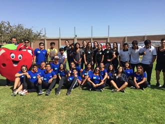 """Estudiantes del CFT representaron al país en """"VII Encuentro Binacional de Actividad Física&quot"""