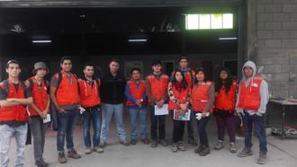 Visitaron la empresa Geocontrol