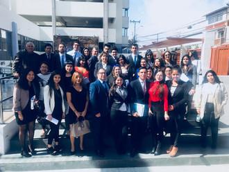 Visita guiada a la Corte de Apelaciones de Arica