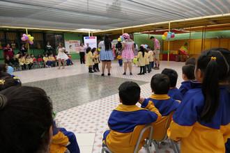 Presentaron obra infantil en Jardín Las Espiguitas