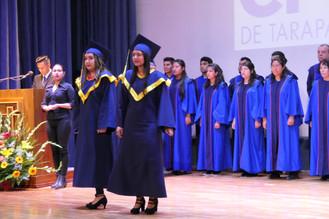 Titulación de la Escuela Superior de Salud y Medio Ambiente