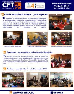 Boletín N°49 CFT de Tarapacá