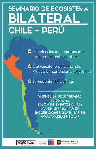Waki Labs invita al seminario Ecosistema Bilateral Chile-Perú
