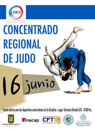 Concentrado regional de JUDO y la segunda fecha del Vóleibol