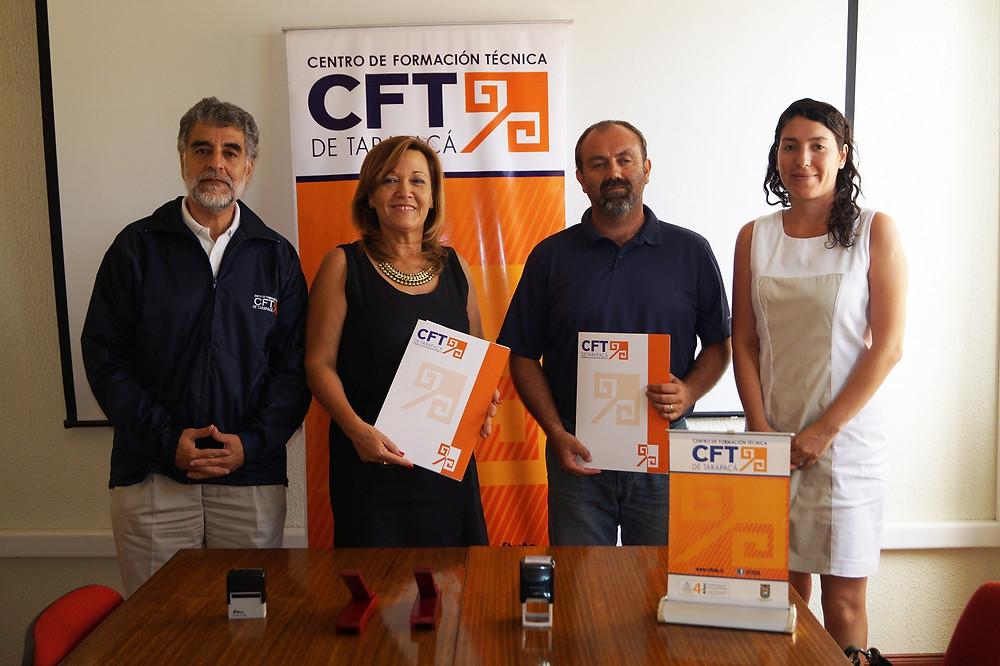 Firma Convenio CFTUTA - Semillera Tuniche