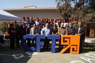 Senadores de la región visitaron el CFT de Tarapacá