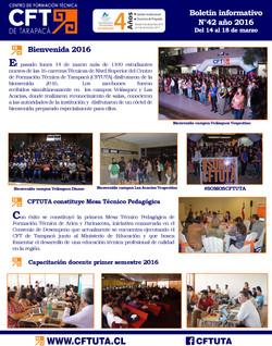 Boletín N°42 CFT de Tarapacá