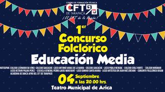 CFT invita al Primer Concurso Folclórico de la Educación Media
