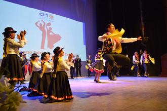 Con concurso de danzas el CFT dio el vamos al mes de la patria