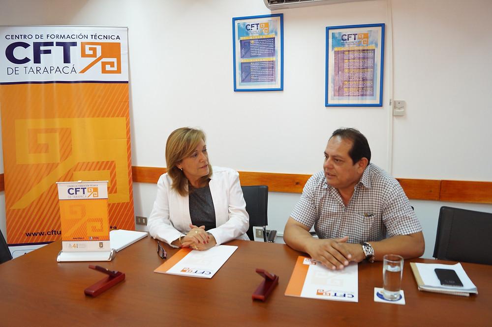 Firma Convenio CFTUTA - Asociación Dueños Taxibuses