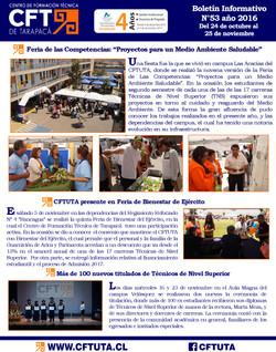 Boletín N°53 CFT de Tarapacá
