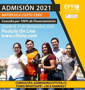CFT de Tarapacá tienes nuevas alternativas para facilitar tu matrícula