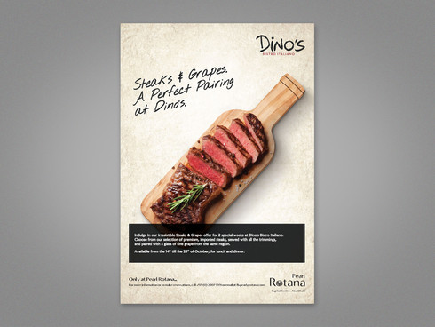Steak & Grape Advert 1