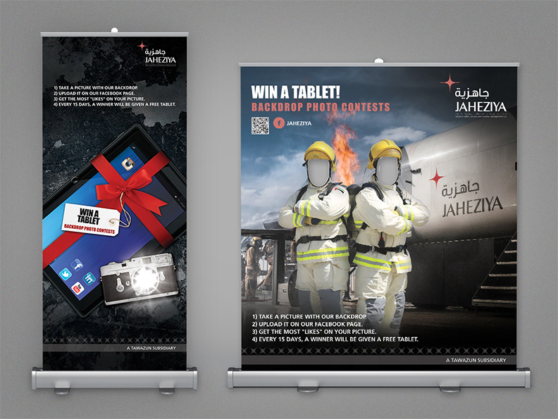 Win a Tablet Campaign