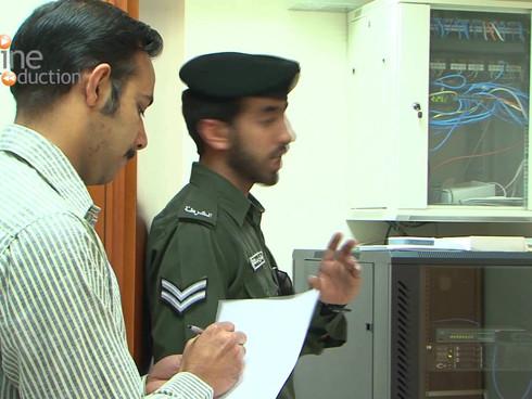 Abu Dhabi Civil Defense Training Campaign