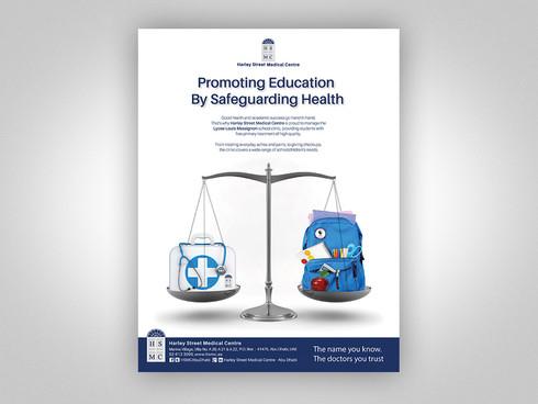 Lycee School Clinic Magazine Ad