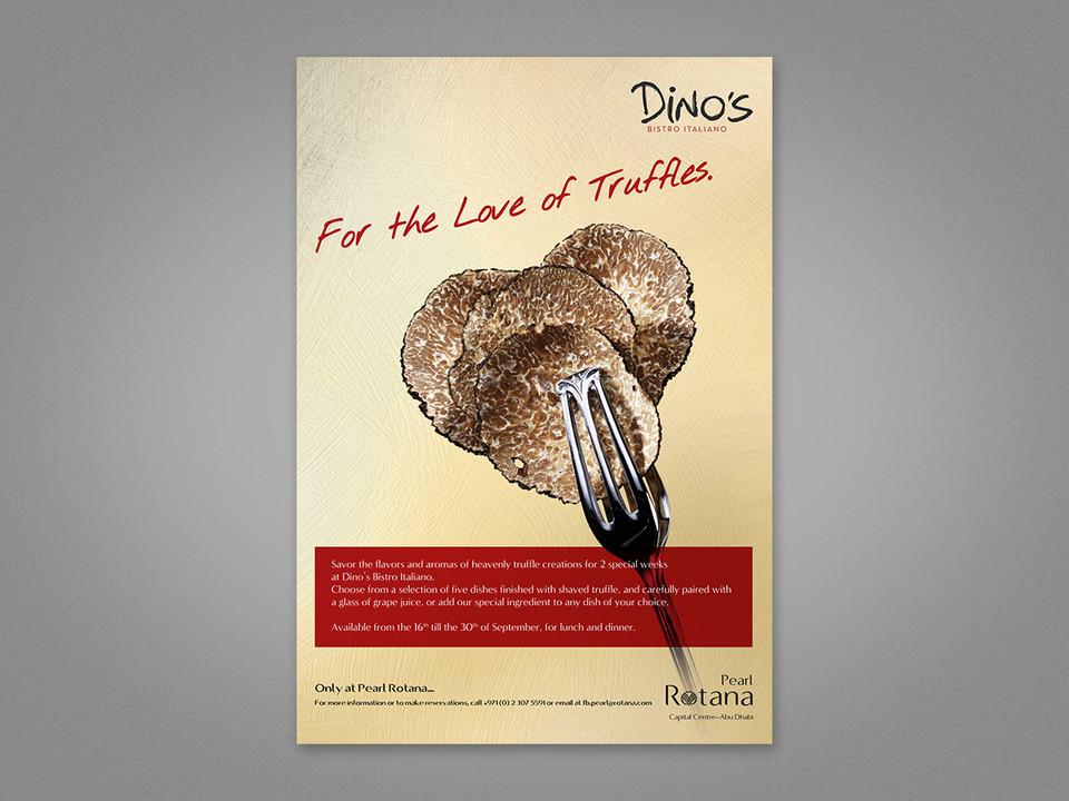 Truffles Advert