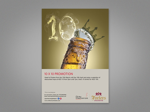10 X 10 Promotion