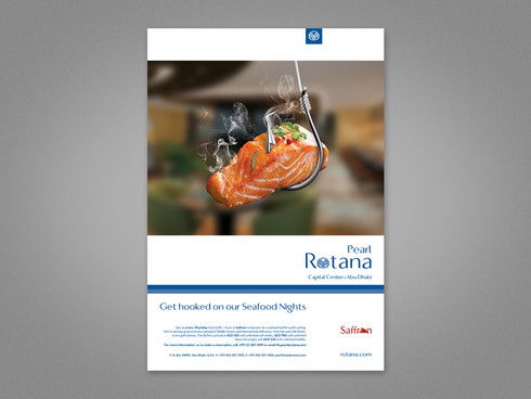 Seafood Night Advert