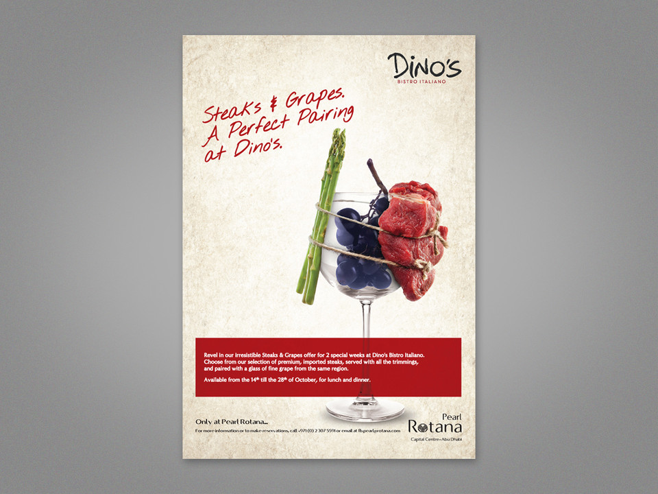 Steak & Grape Advert 2