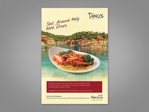 Italian Seafood Advert