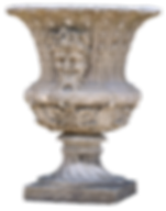 vase pierre moulage copie ancien sculpture antique antiquité ancien patine urn mould reconstituted stone patina weathering  copy ancient