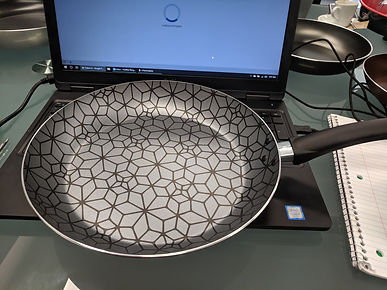 Cookware with Interior Pattern