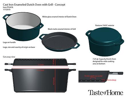 Cast Iron 5 Qt. Concept Page