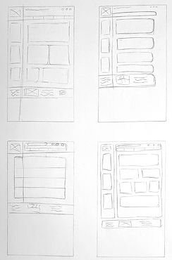 Wireframe Sketches 2