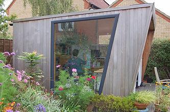 Astrig's garden studio.
