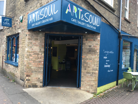 Art & Soul Cafe Exhibition, St Neots  - October 2019