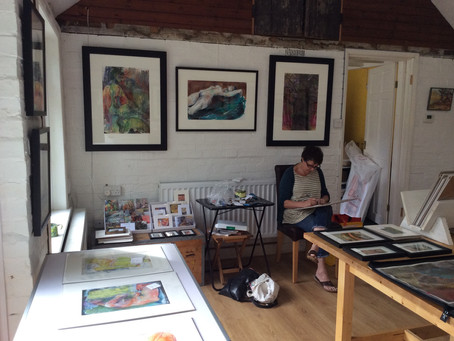 Cambridge Open Studios 2016