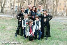 Мишель и группа Свои 1999 год после концерта в ДК ЧРЗ