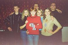 """Мишель и группа """"Свои"""" 2001 год"""