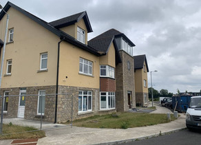 Construction Management Team Completing Apartments in Drummin Village in Nenagh